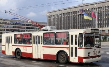Запорожский троллейбус