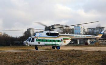 """Модернизированный вертолет """"Мотор Сич"""""""