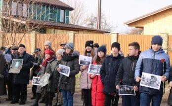память жертв Холокоста в Запорожье
