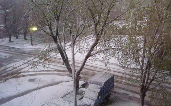 погода запорожье снег