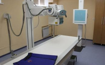 рентген-аппарат в больнице