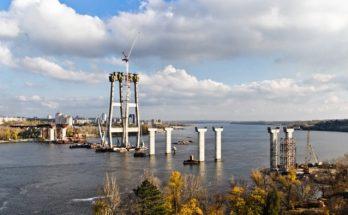 запорожские мосты, мостов в запорожье