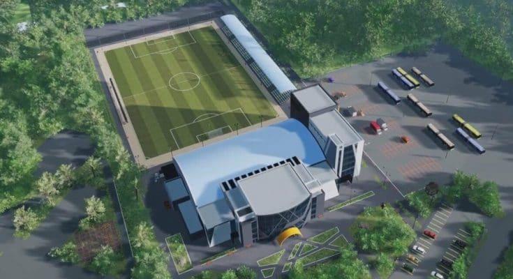 построить стадион