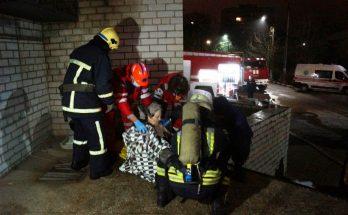 Запорожская областная инфекционная больницая пожар погибшие