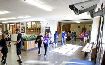 В запорожских школах установят видеокамеры