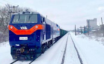По Запорожской области курсируют поезда с двойным перевесом