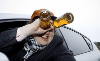 пьяного водителя