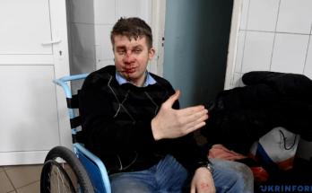 Запорожский облсовет Майстро избиение