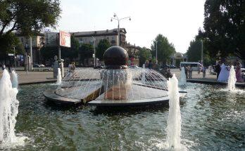фонтанов города