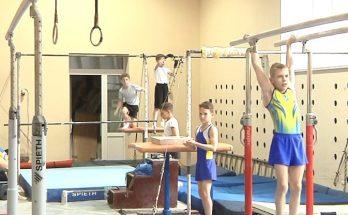 Запорожские гимнасты