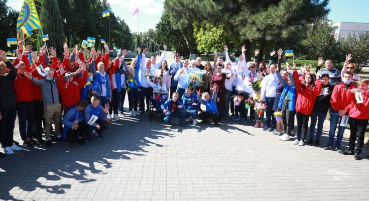Запорожские паралимпийцы