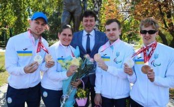 Паралимпийские игры Помазан Старух