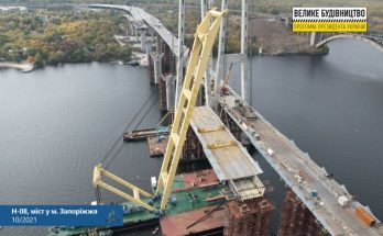 низовой части вантового моста